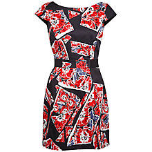 Buy French Connection Riot Rose Dress, Red Online at johnlewis.com