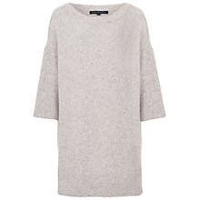 Buy French Connection Flossy Oversized Knit Jumper, Oatmeal Online at johnlewis.com