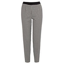 Buy Coast Jervis Jacquard Trousers, Mono Online at johnlewis.com
