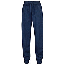 Buy Fat Face Printed Lagoon Trousers, Navy Online at johnlewis.com