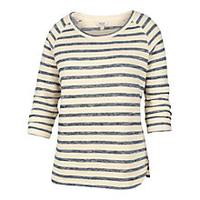 Buy Fat Face Siobhan Striped Top, Blue/White Online at johnlewis.com