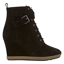 Buy Mint Velvet Helen Wedge Heeled Ankle Boots Online at johnlewis.com