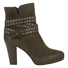 Buy Mint Velvet Bernie Biker Ankle Boots Online at johnlewis.com