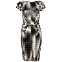 Buy Closet Houndstooth Bodycon Dress, Black/White Online at johnlewis.com