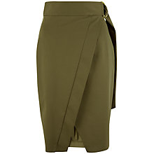 Buy Closet Wrap Skirt, Khaki Online at johnlewis.com