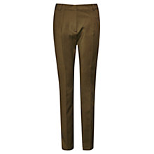 Buy French Connection Glass Stretch Trousers, Turtle Online at johnlewis.com