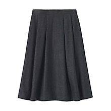 Buy Toast Wool Felt Skirt, Grey Online at johnlewis.com