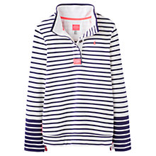 Buy Joules Cowdray Stripe Sweatshirt, Cream Stripe Online at johnlewis.com