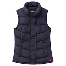 Buy Joules Eastleigh Padded Gilet, Navy Online at johnlewis.com