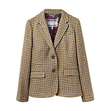 Buy Joules Tartan Tweed Blazer, Green Online at johnlewis.com