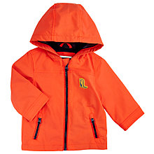 Buy John Lewis Baby Zip Mac, Orange Online at johnlewis.com