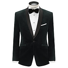 Buy John Lewis Velvet Shawl Collar Tailored Blazer Online at johnlewis.com
