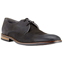 Buy Kin by John Lewis Jason Nubuck Derby Shoes, Black Online at johnlewis.com