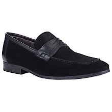Buy Kin by John Lewis Eddie Saddle Loafers, Black Online at johnlewis.com