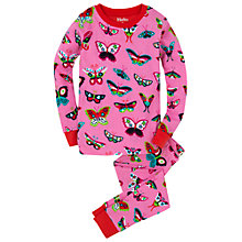 Buy Hatley Girls' Electric Butterflies Pyjama Set, Pink Online at johnlewis.com
