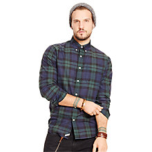 Buy Denim & Supply Ralph Lauren Classic Button Down Shirt, Darkwater Ridge Online at johnlewis.com