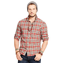 Buy Denim & Supply Ralph Lauren Classic Long Sleeve Check Shirt Online at johnlewis.com