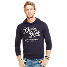 Buy Denim & Supply Ralph Lauren Hooded Logo Sweatshirt Online at johnlewis.com