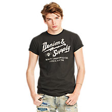 Buy Denim & Supply Ralph Lauren Brooklyn Electric T-Shirt Online at johnlewis.com