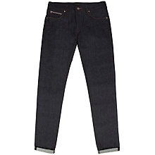 Buy Ted Baker Selvedge Straight Fit Jeans, Rinse Denim Online at johnlewis.com