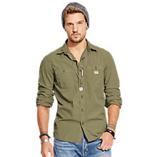 Buy Denim & Supply Ralph Lauren Long Sleeve Work Sport Shirt Online at johnlewis.com