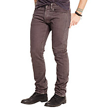 Buy Denim & Supply Ralph Lauren Slim Fit Jeans, Vivo Charcoal Online at johnlewis.com
