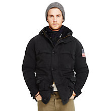 Buy Denim & Supply Ralph Lauren Parka-Down Fill Jacket Online at johnlewis.com