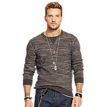 Buy Denim & Supply Ralph Lauren Crew Neck Sweatshirt Online at johnlewis.com