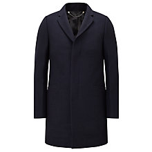 Buy Kin by John Lewis Loft Compact Melton Overcoat Online at johnlewis.com