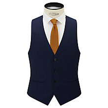 Buy Kin by John Lewis Slim Fit Stamford Tonic Waistcoat, Midnight Blue Online at johnlewis.com