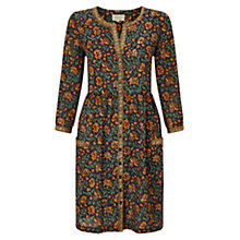 Buy East Samode Print Tunic Dress, Black Online at johnlewis.com