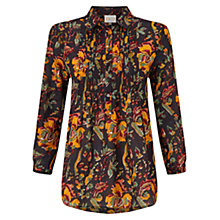 Buy East Samode Floral Shirt, Black Online at johnlewis.com