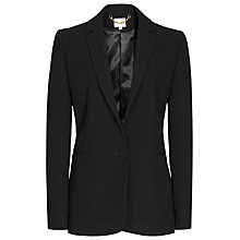 Buy Reiss Vix Single Breasted Blazer, Black Online at johnlewis.com