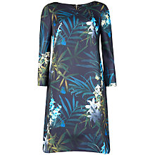 Buy Ted Baker Amelee Twilight Floral Tunic Dress, Black Online at johnlewis.com