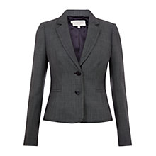 Buy Hobbs Dunmore Jacket, Navy Online at johnlewis.com