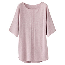 Buy Poetry Cashmere Ribbed Tunic Top Online at johnlewis.com