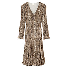 Buy East Snake Print Dress, Multi Online at johnlewis.com
