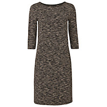 Buy White Stuff Shaker Jersey Dress, Stone Grey Online at johnlewis.com