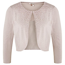 Buy Jacques Vert Sparkle Bolero, Light Neutral Online at johnlewis.com