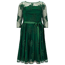 Buy Studio 8 Yvette Lace Dress, Pine Online at johnlewis.com
