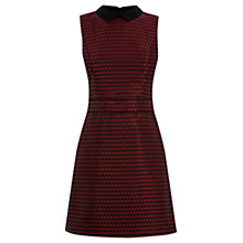 Buy Warehouse Ditsy Floral Dress, Red Online at johnlewis.com