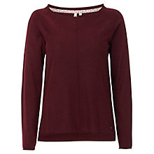 Buy White Stuff Falls Jumper, Plum Online at johnlewis.com