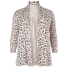Buy Studio 8 Molly Spot Print Cardigan, Stone Online at johnlewis.com