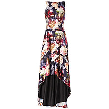 Buy Adrianna Papell Floral Print Mermaid Gown, Multi Online at johnlewis.com
