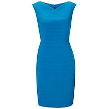 Buy Adrianna Papell Directional Bandage Sheath Dress, Cerulean Blue Online at johnlewis.com