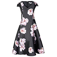 Buy True Decadence Floral Prom Dress, Black/Plum Online at johnlewis.com
