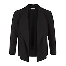 Buy Planet Waterfall Shrug, Black Online at johnlewis.com