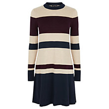 Buy Warehouse Stripe Swing Dress,  Multi Online at johnlewis.com