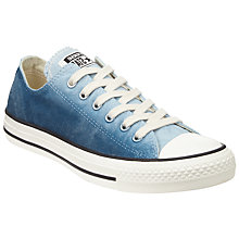 Buy Converse Chuck Taylor All Star Ox Low Top Trainers, Blue/Multi Online at johnlewis.com