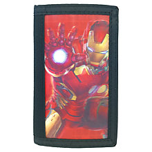 Buy Marvel Iron Man Wallet, Black/Red Online at johnlewis.com